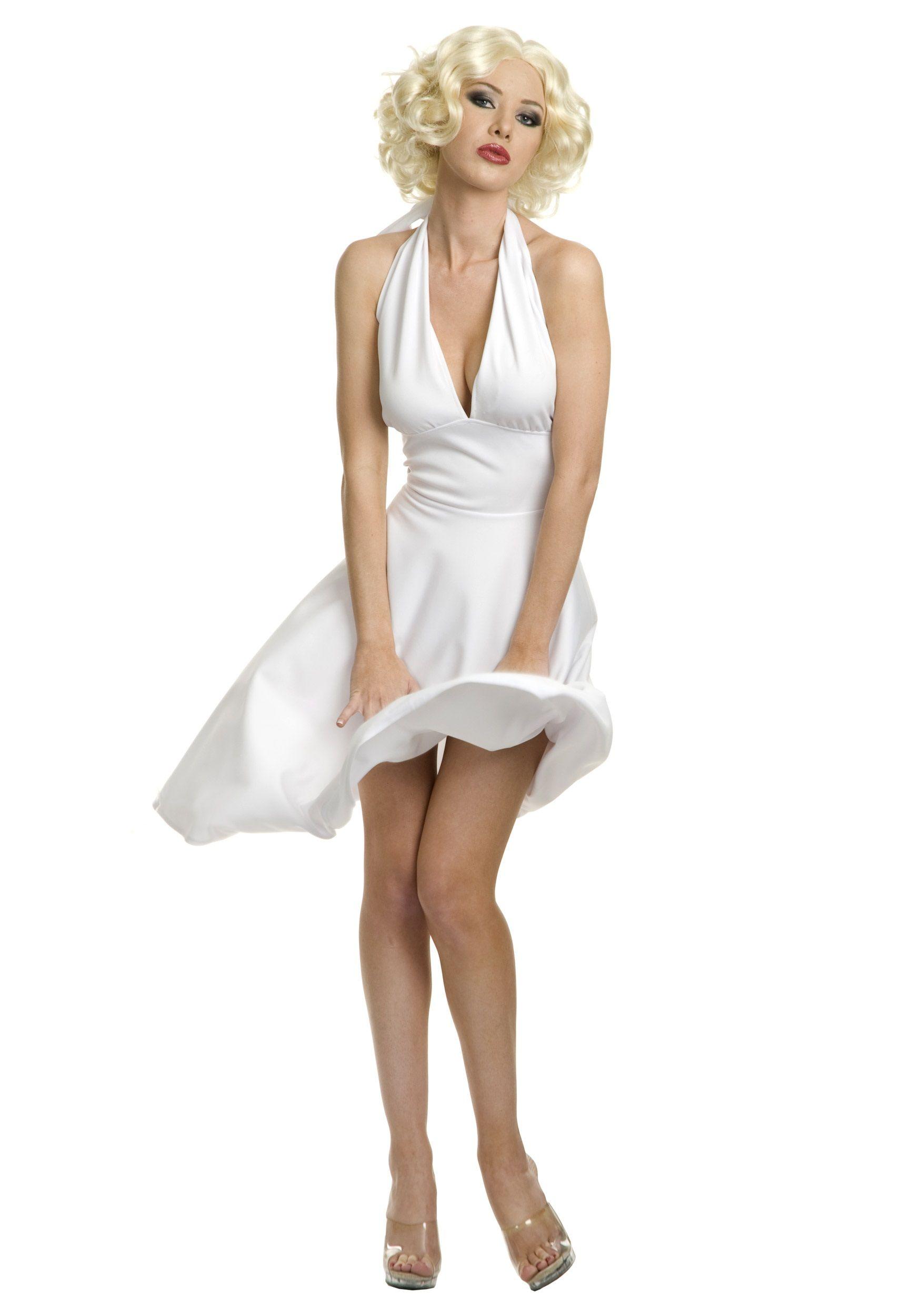 Plus Size Marilyn Halter Dress   Marilyn monroe costume, Costumes ...