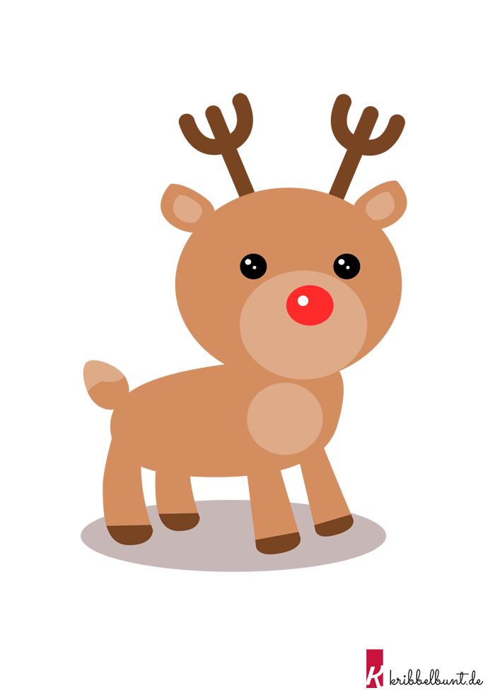 Rentier Basteln 4 Rentier Basteln Basteln Mit Kindern Weihnachten Basteln