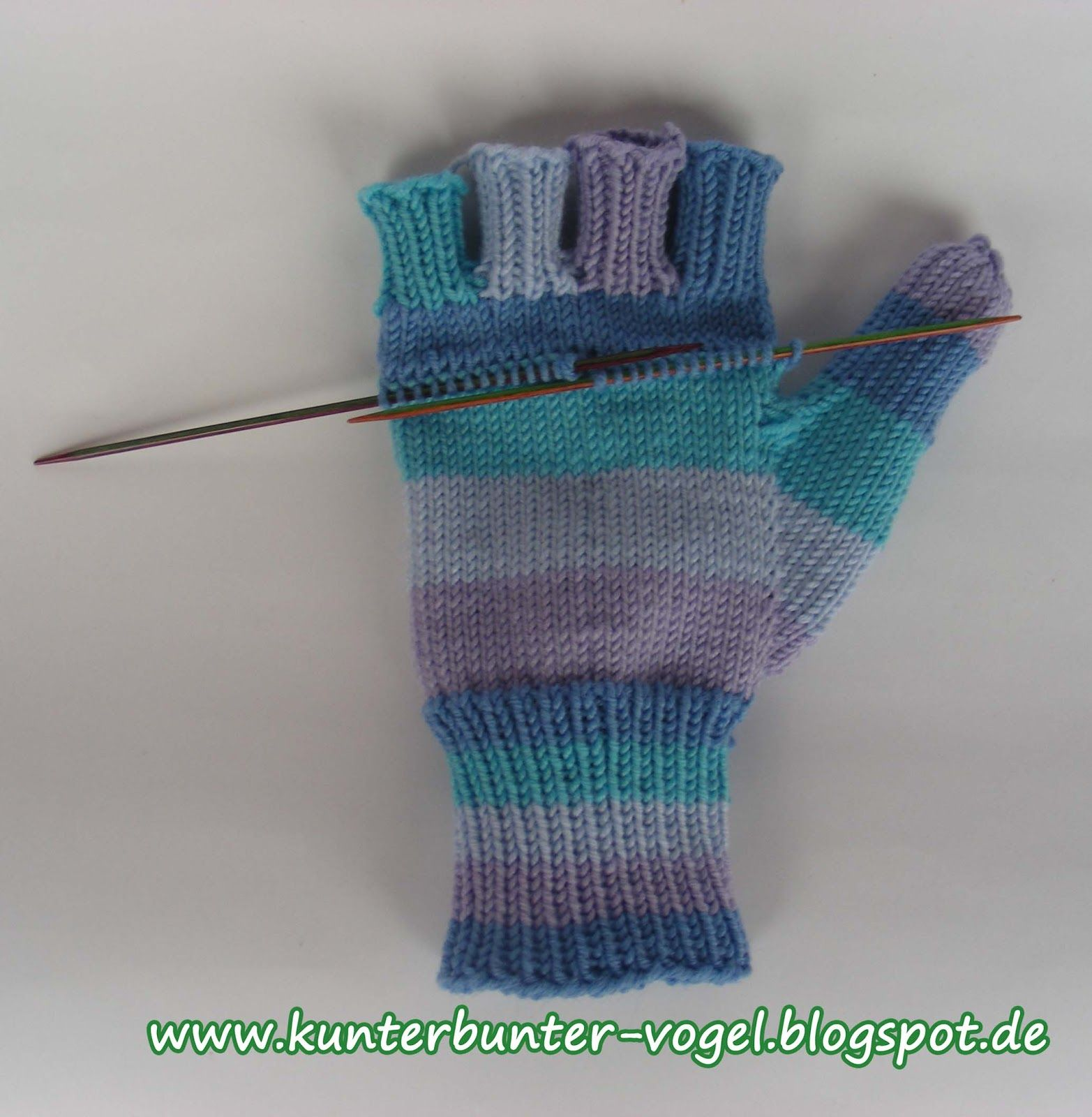 Strick-Blog Handarbeits-Blog Freising Kunterbunter Vogel | Stricken ...