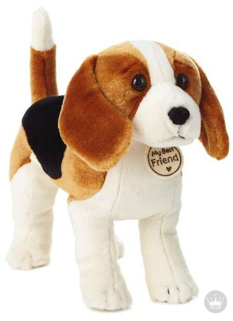 Tricolored Hound Dog Large Stuffed Animal Large Stuffed Animals