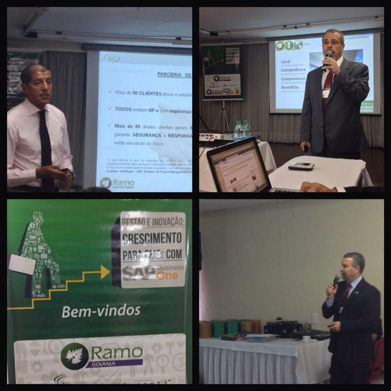 Gestão e Inovação para PMEs Evento no Hotel Castro (GO) em 21/11/13