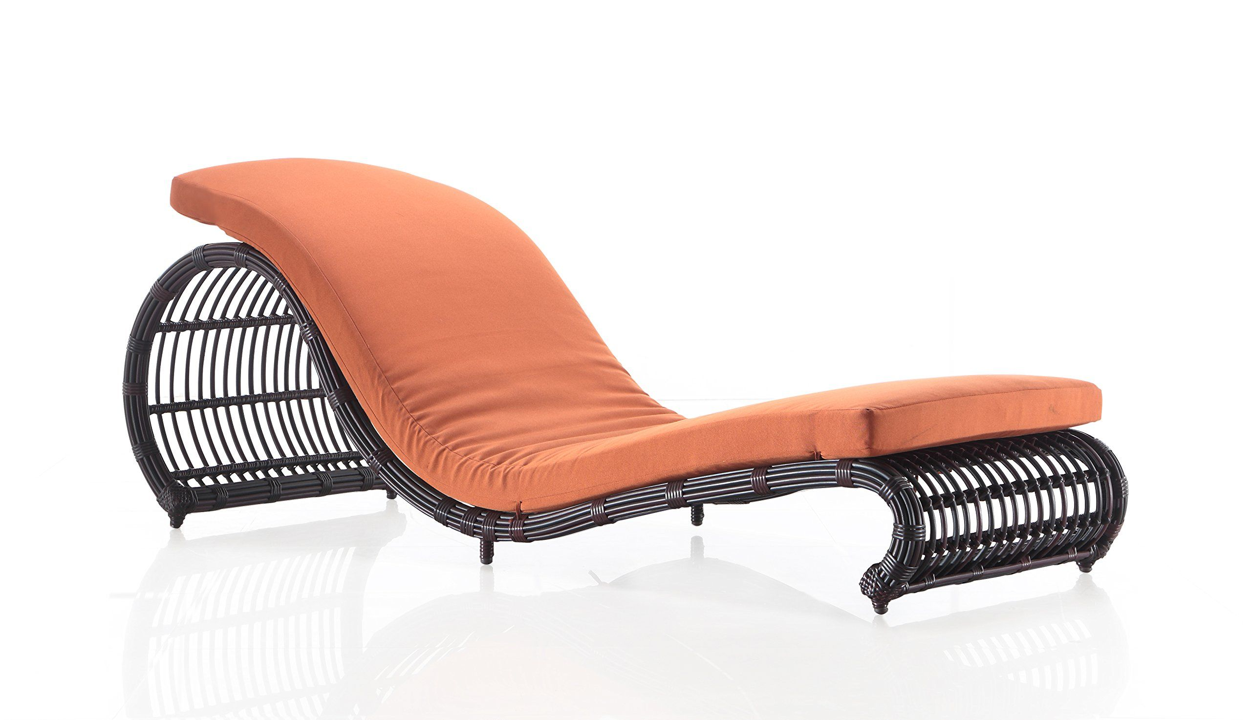 Ceets onda patio lounge chair one piece lounge chair all weather