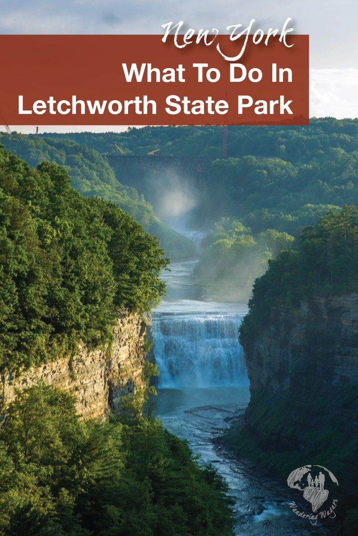 Letchworth State Park Things To Do and Places To Go - Adventure Family Travel - Wandering Wagars #letchworthstatepark