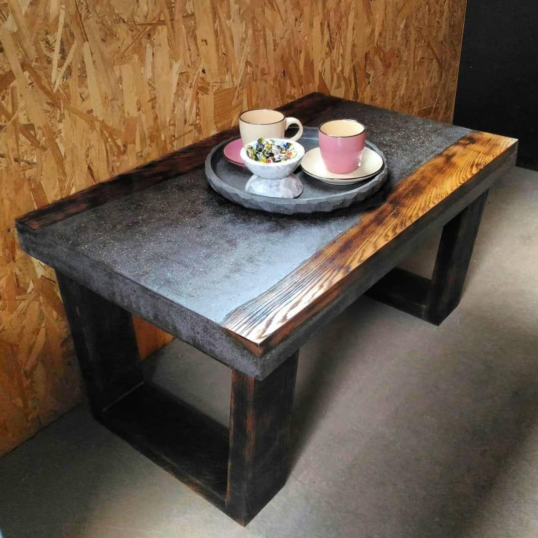 мебель из бетона на заказ