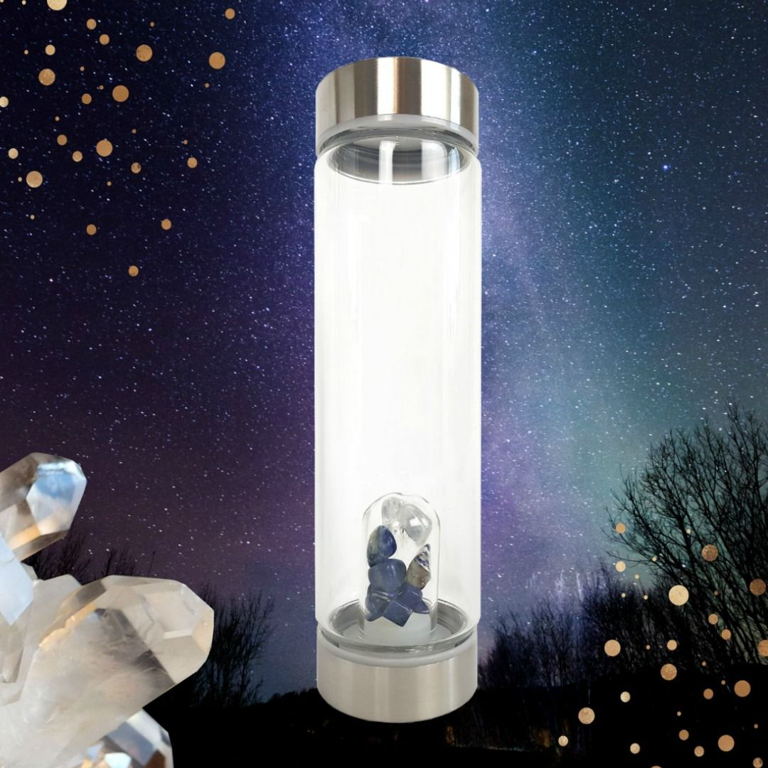 Crystal eco drinking water bottles