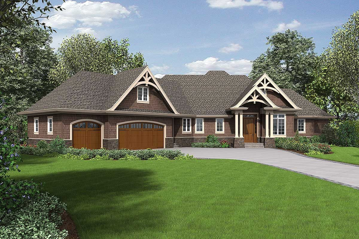 3 Bed Angled Ranch with Finished Lower Level