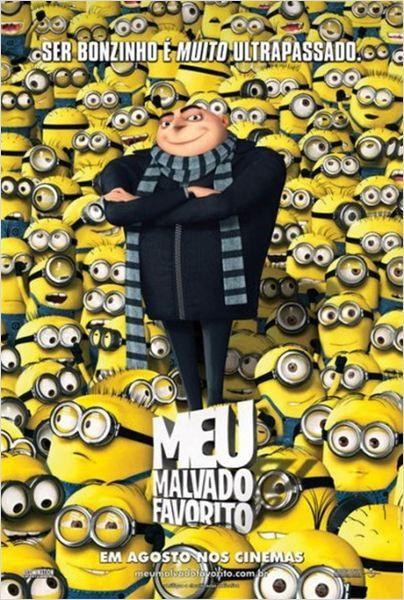 Meu Malvado Favorito Poster Mais Filmes Humor Dos Minions