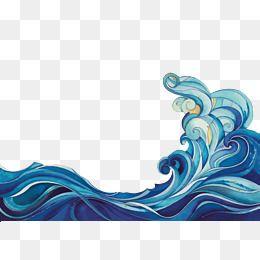 Relateret Billede Wave Drawing Wave Art Rock Painting Designs