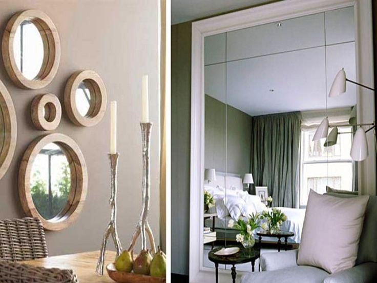 Casasamp c mo utilizar los espejos decorativos para for Como colgar un espejo grande
