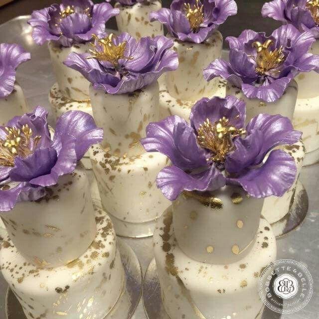 Bobbette & Belle Gorgeous 2 tier Mini Cakes ♥
