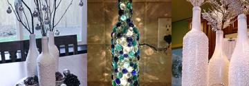 15 Wunderbare Bastelideen mit Weinflaschen die Ihr Zimmer aufleben lassen!
