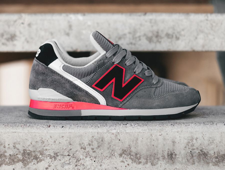 New Balance 996 Grey Red Black | New