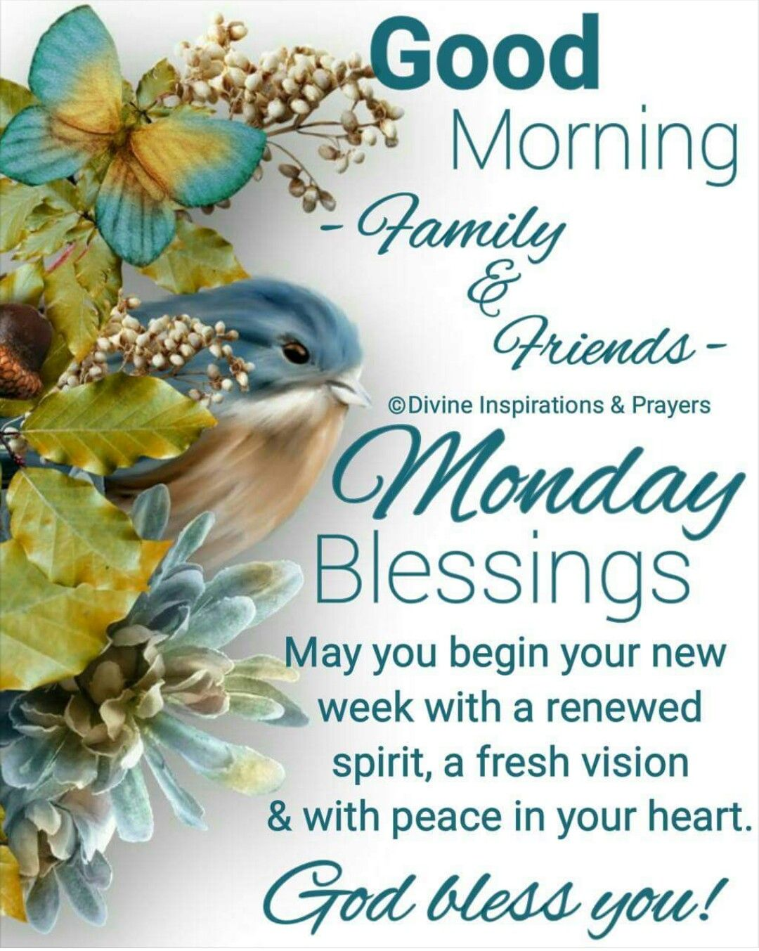Monday Blessings Good Morning Morning Quotes Monday Blessings