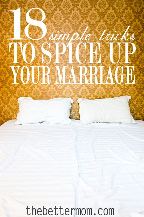 Is your marriage feeling dull and boring? Do you need to spice things up a little? Investing in your marriage can be hard work. Here are 18 simple tricks to help you spice up your marriage.