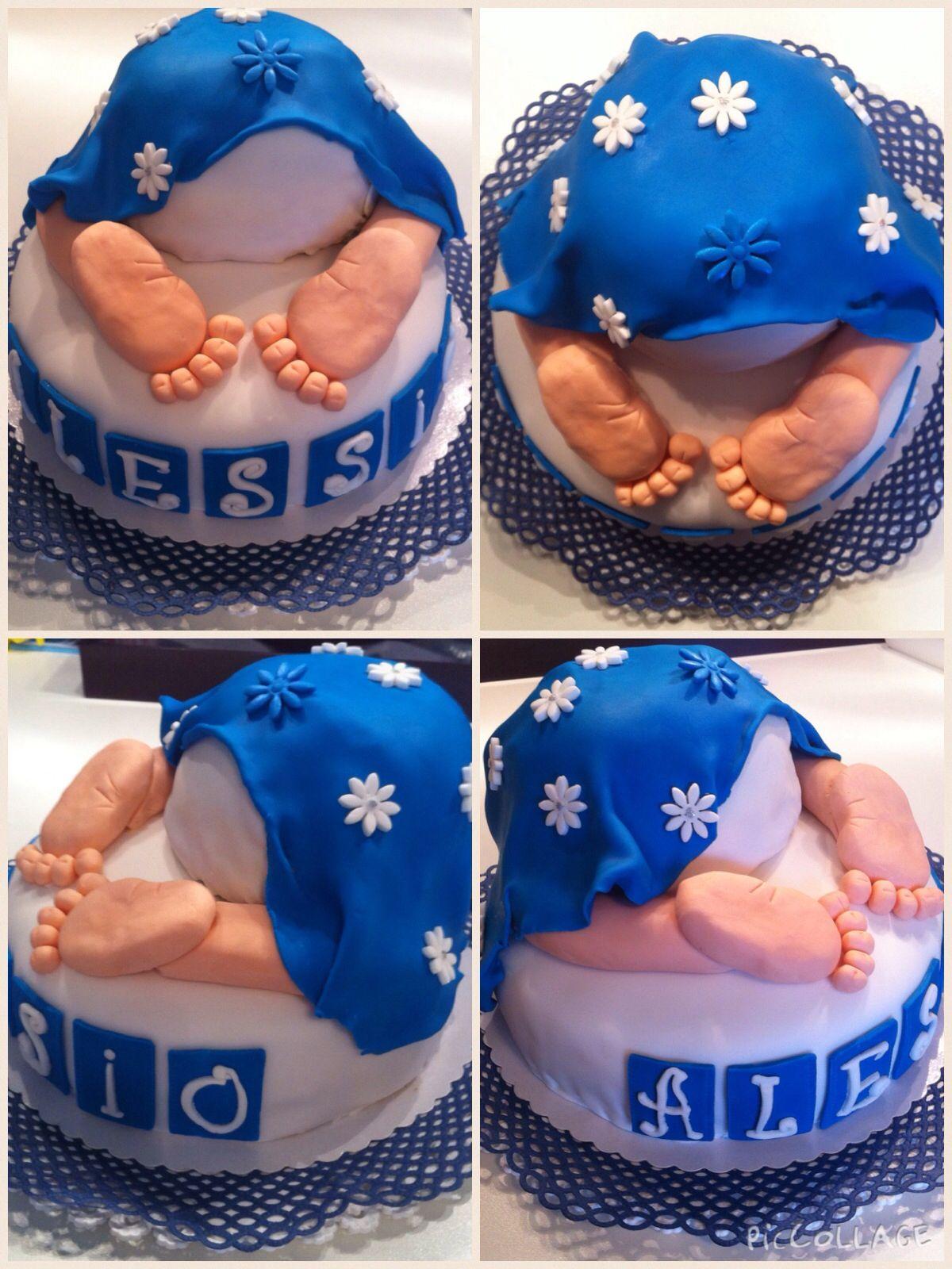 Baby bum cake Baby Popo Torte Wunderkuchen mit Schoko