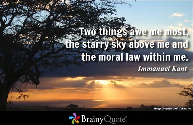 Moral Quotes About Love Awesome Immanuel Kant Quotes  Awe Me Morals And Law