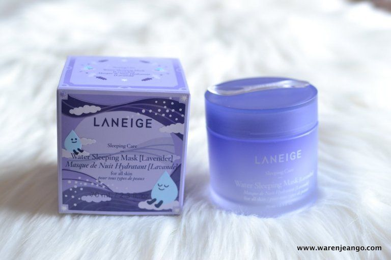 Lavender Water Sleeping Mask by Laneige #9