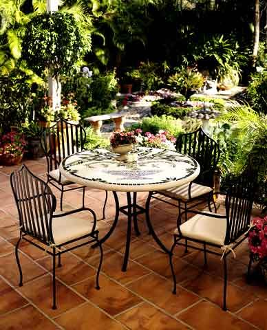 mobilier de jardin – canapé de jardin – fauteuil de jardin – meubles ...