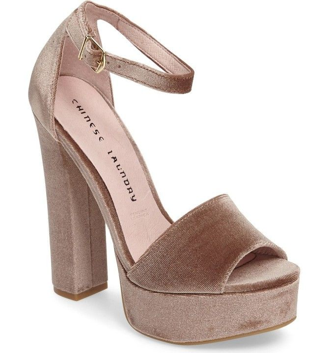 Chinese Laundry Lavelle Ankle Strap Sandal, 4 heel