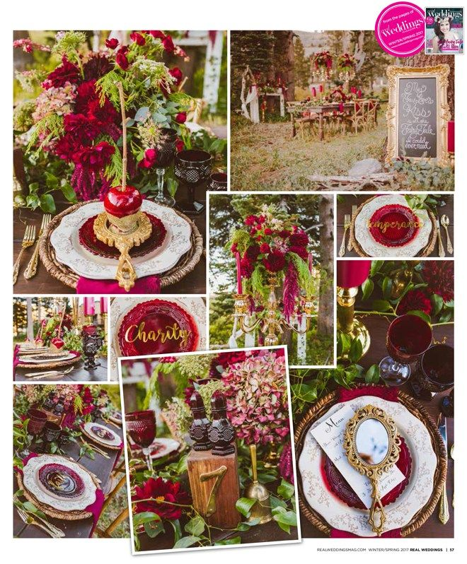 Sacramento Wedding Inspiration: Snow White {The Layout