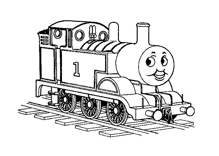 Thomas The Train Coloring Coloring PagesKidsfreecoloring.Net | Free ...