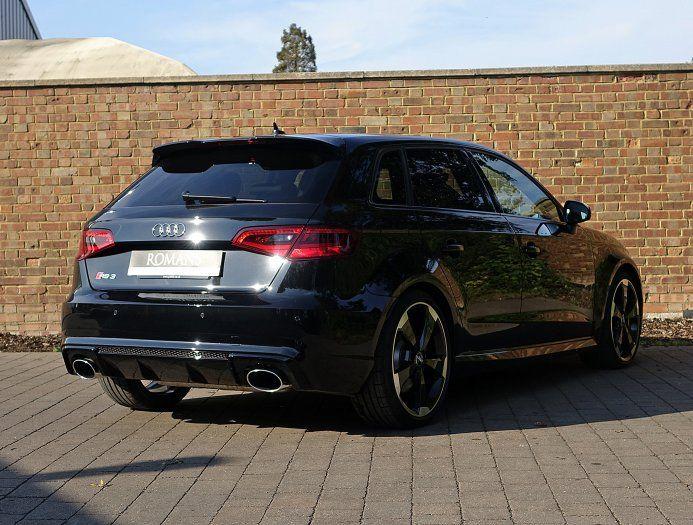 2016 16 Audi Rs3 Sportback For Sale Mythos Black Sweet Rides