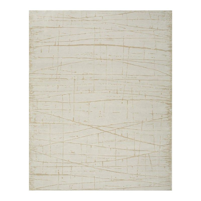 From our ModernArt Collection, this is a handmade Tibetan rug