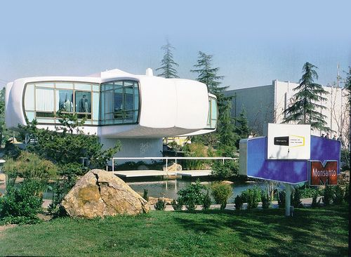 Monsanto House Of The Future With Images Future House Disneyland