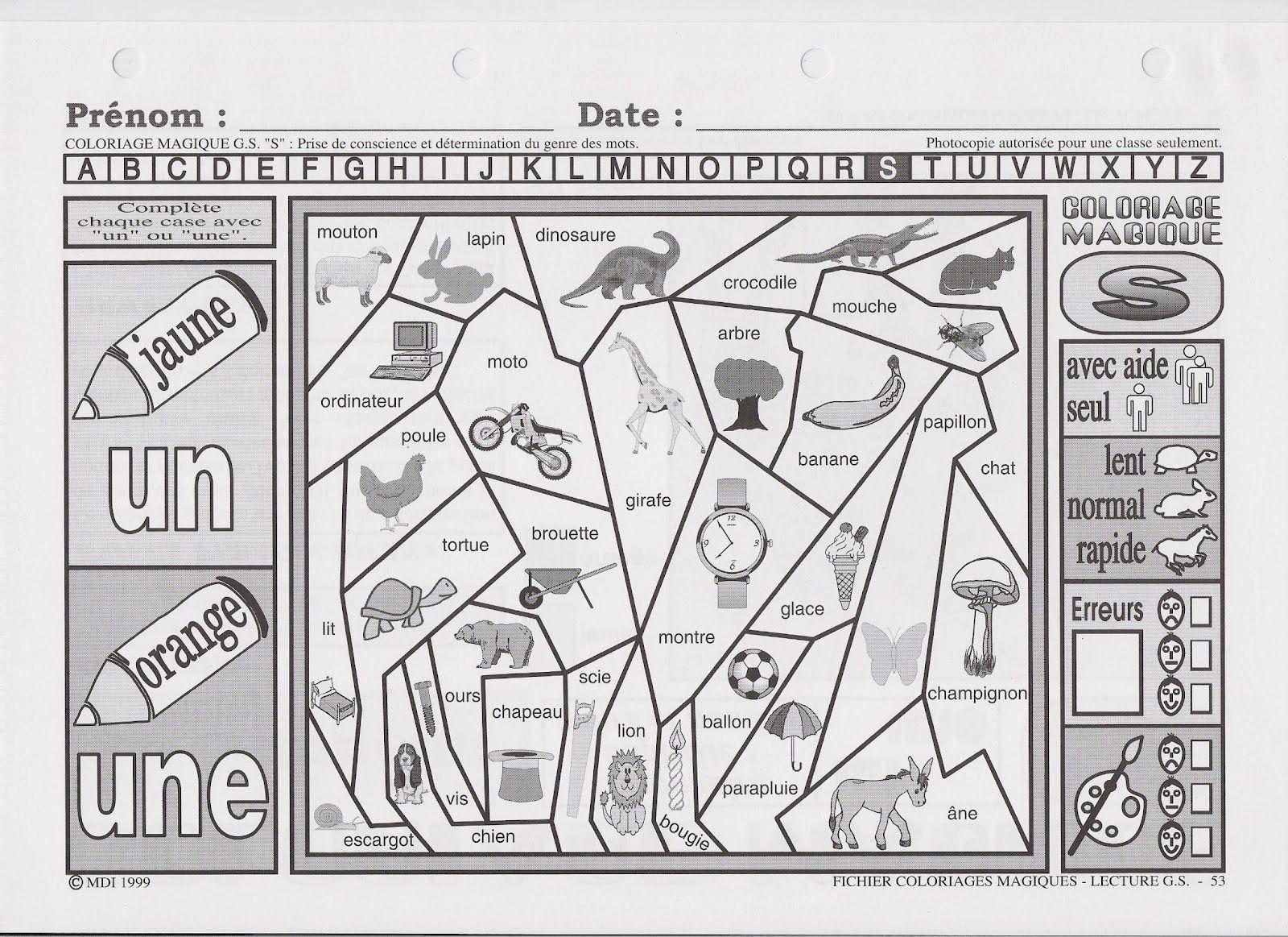 un une coloriage magique 1600—1163