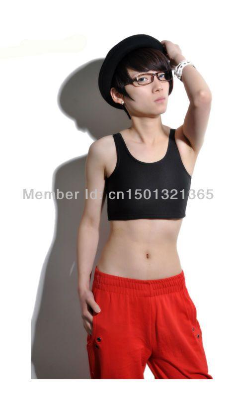 Flat chest black lesbian