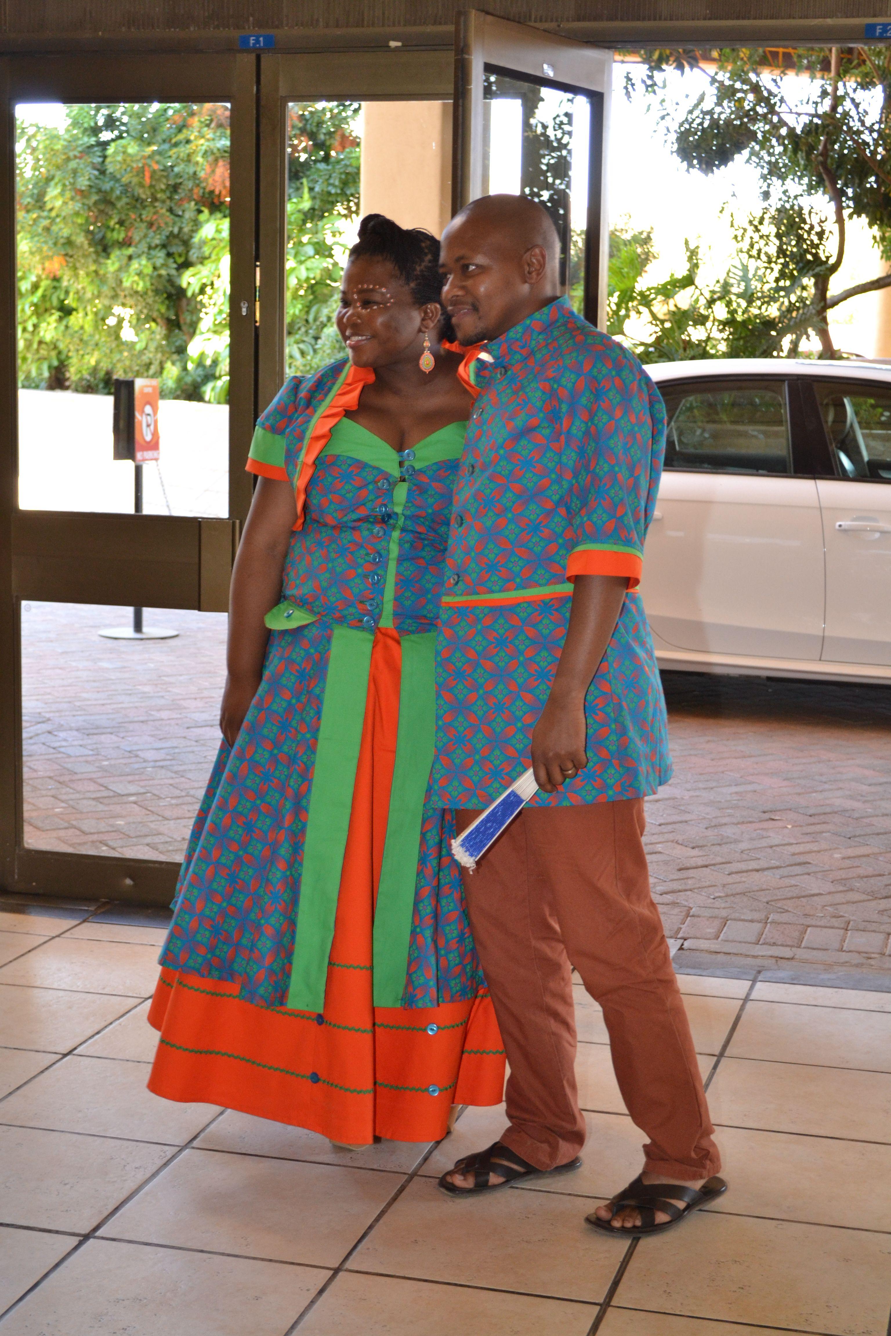 Shweshwe Traditional dresses, Wedding dress styles