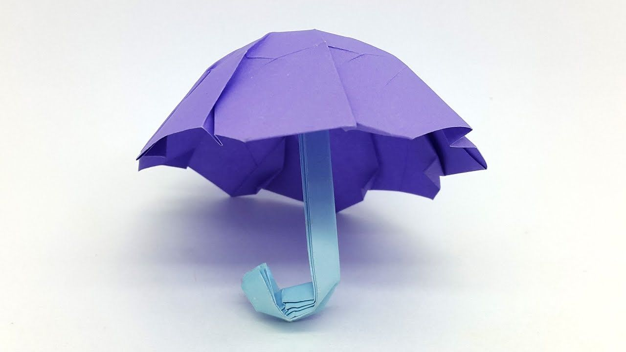 Origami Umbrella Easy Folding Instructions