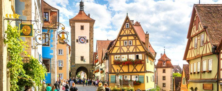Most Enchanting Towns In Germany Travel Pinterest - 10 most enchanting towns in germany