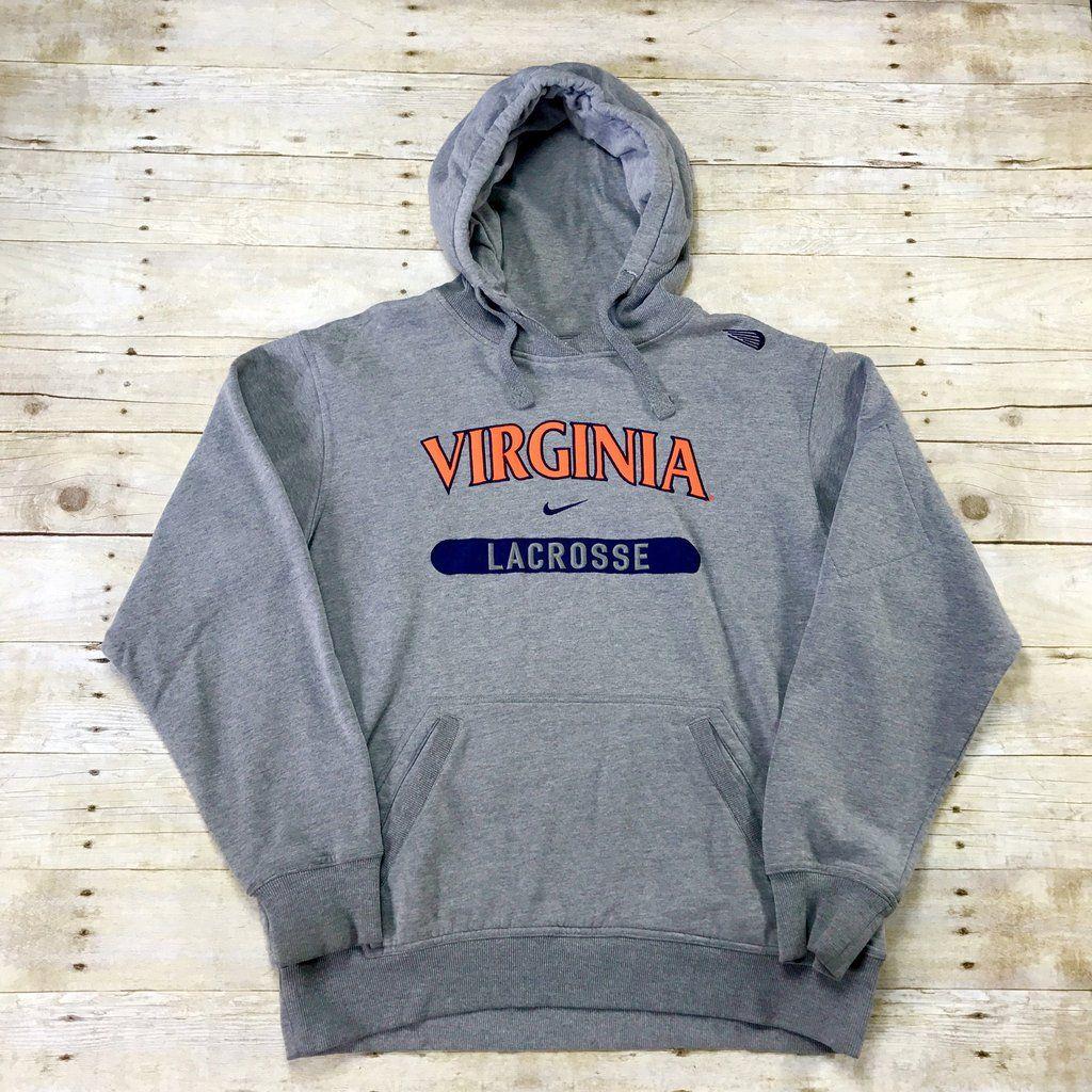 Nike Virginia Lacrosse Embroidered Gray Tech Pocket Sweatshirt Mens Size Medium Mens Sweatshirts Pocket Sweatshirt Athletic Jacket [ 1024 x 1024 Pixel ]