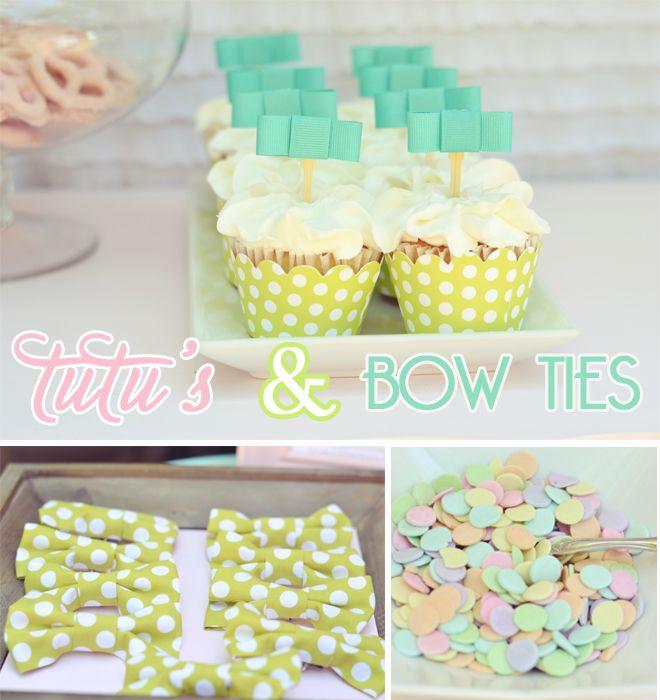 Tutus Bow Ties Birthday Party Birthday Party Ideas Parties