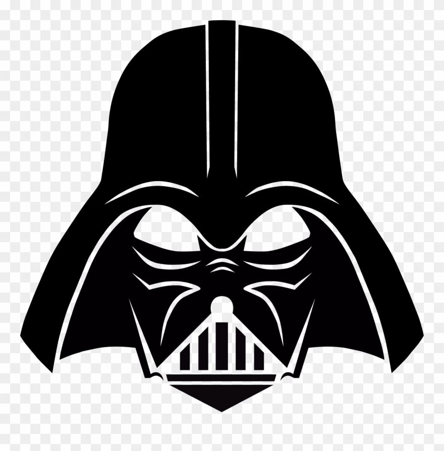 Clip Free Library Chewbacca Clipart Darth Vader Png Download In 2021 Darth Vader Stencil Star Wars Drawings Darth Vader Helmet Drawing