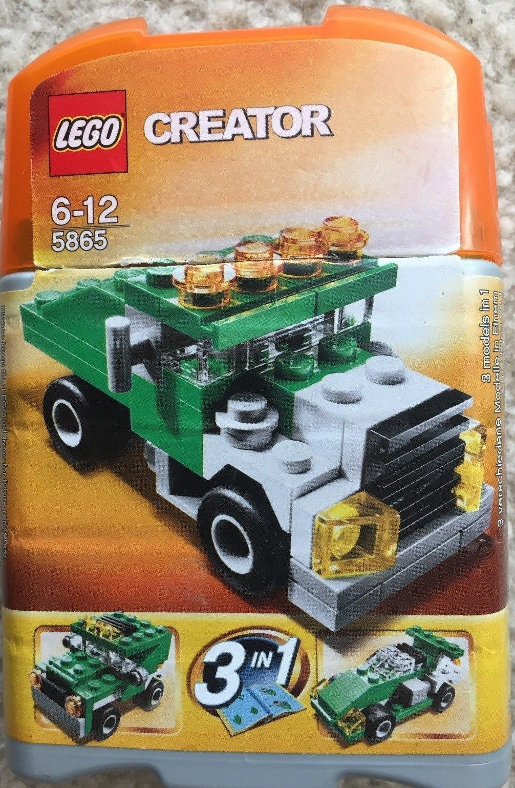 Car 3 toys  LEGO CREATOR  Mini Dumper  in  set complete  Buying Toys
