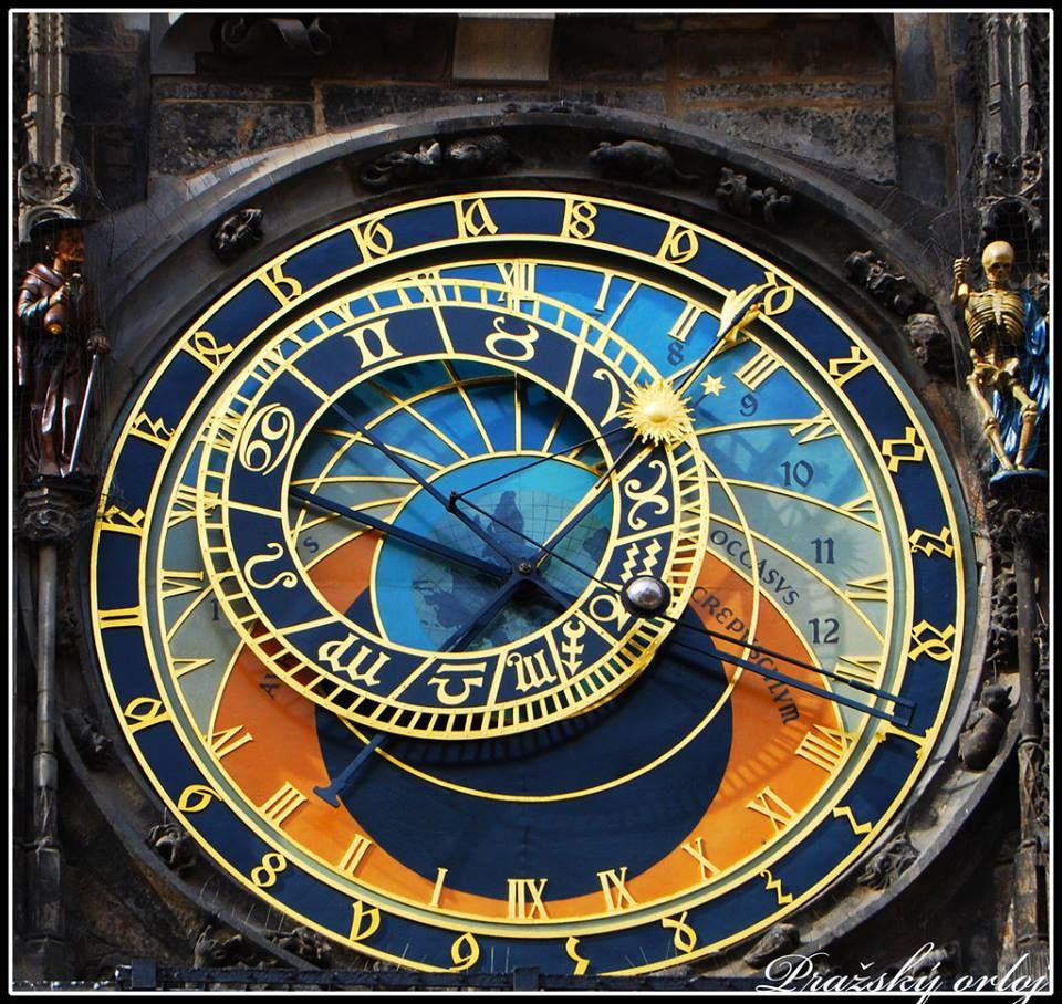 Astronomical Clock Tattoo: Oldest Astrological Clock , Made In Prague In The 1400's