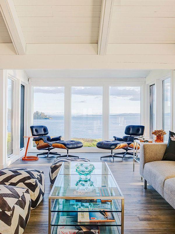 Mid Century Modern Beach House Retreat On Pender Island Modern