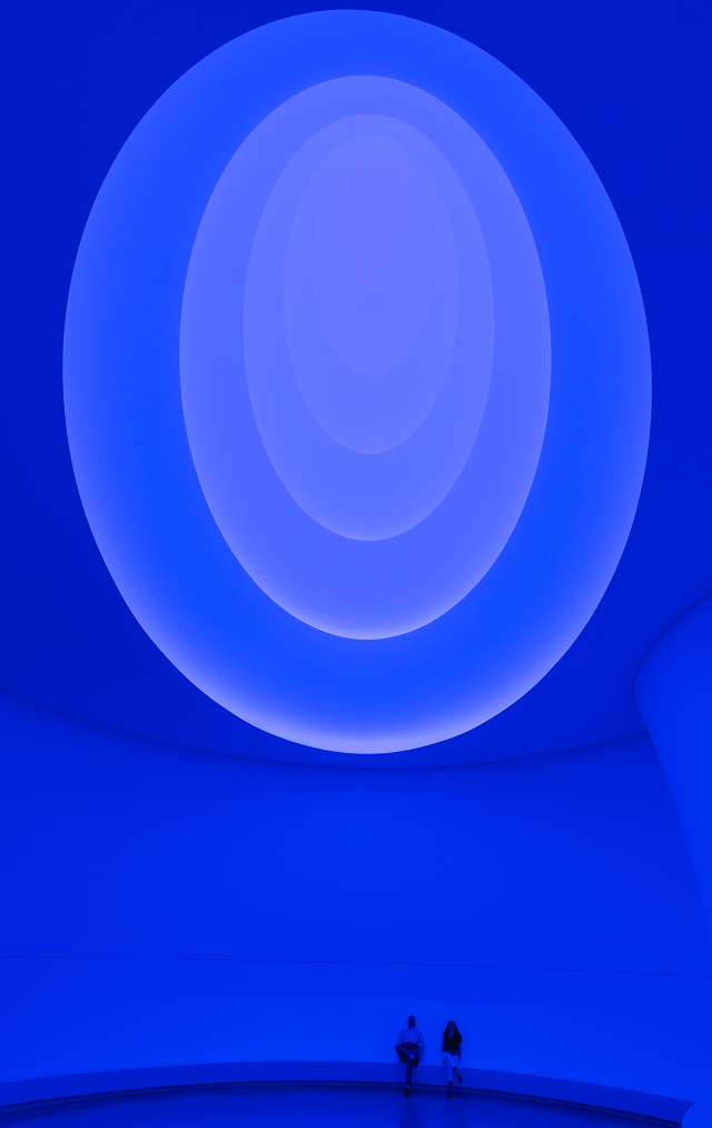 James Turrell Light #Installation at the #Guggenheim. #art