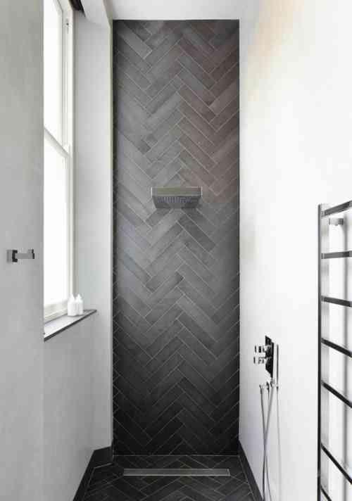 Carrelage douche pour une salle de bain moderne | Coin salle d\'eau ...