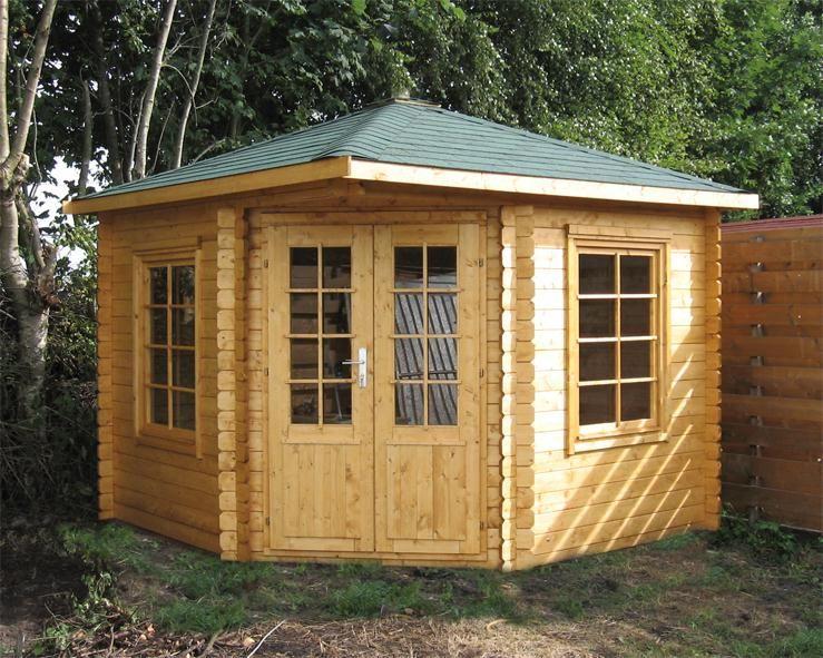 tuin ingrid corner log cabin retailers in uk and eu. Black Bedroom Furniture Sets. Home Design Ideas