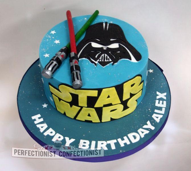 Alex Starwars Birthday Cake Ice Bday Pinterest Birthday