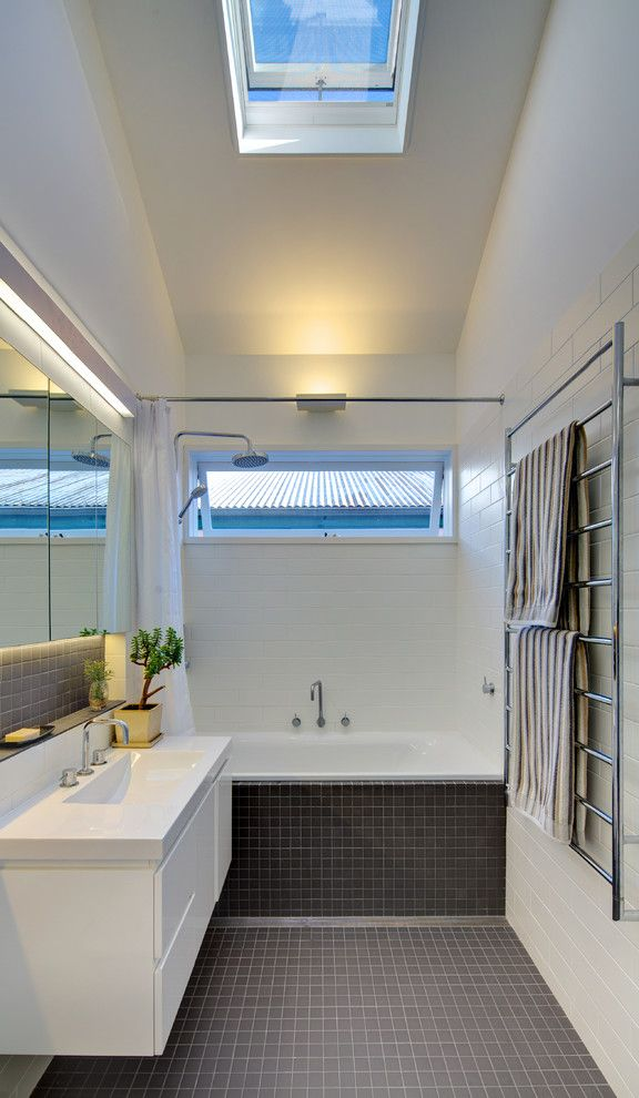Chic Coral Bath Towels Technique Sydney Contemporary Bathroom - Coral bath towels for small bathroom ideas