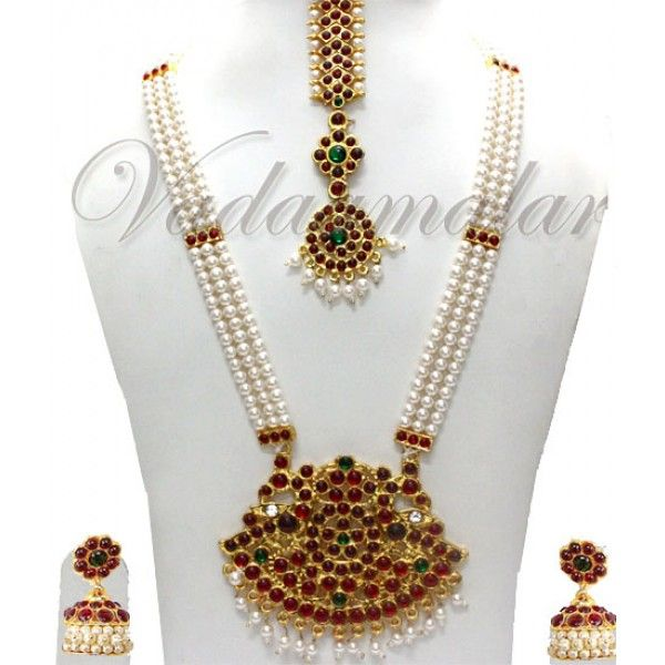 Constructive Indian Bollywood Ethnic Green Matte Gold Pearl Jhumka Earring Fashion Jewelry Online Shop Costume Jewellery