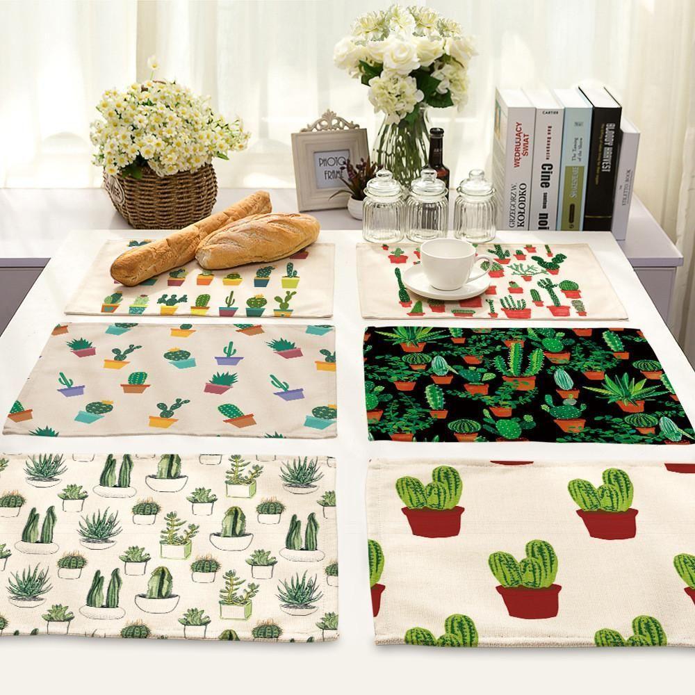 Handmade Cotton Cactus Potholder Succulent Kitchen Hot Pad