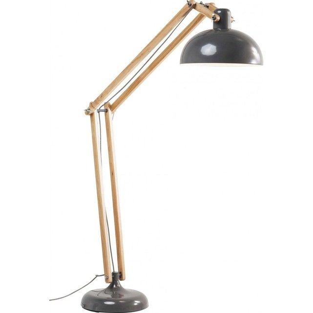 Lampadaire Work Station Gris Kare Design Kare Design Lamp Lampe Sur Pied Lampadaire
