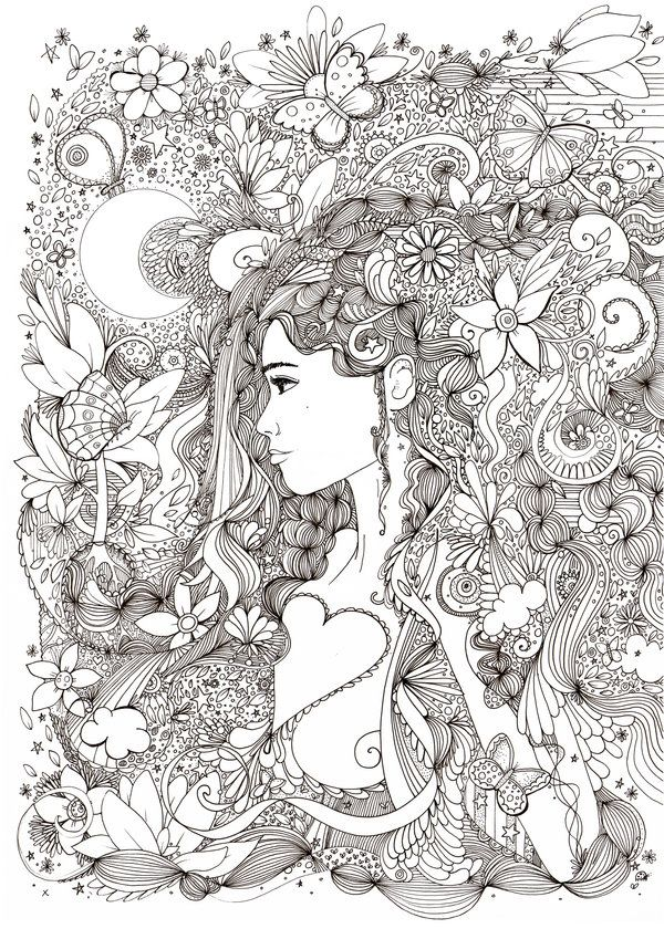 Pin On Zentangle Doodles Art Adults Coloring Books