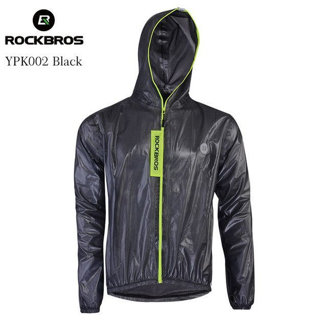 ROCKBROS Waterproof Cycling Jersey Raincoat Breathable MTB Riding Motocross Bike Jersey Anti-sweat Bicycle Men Cycling Clothing