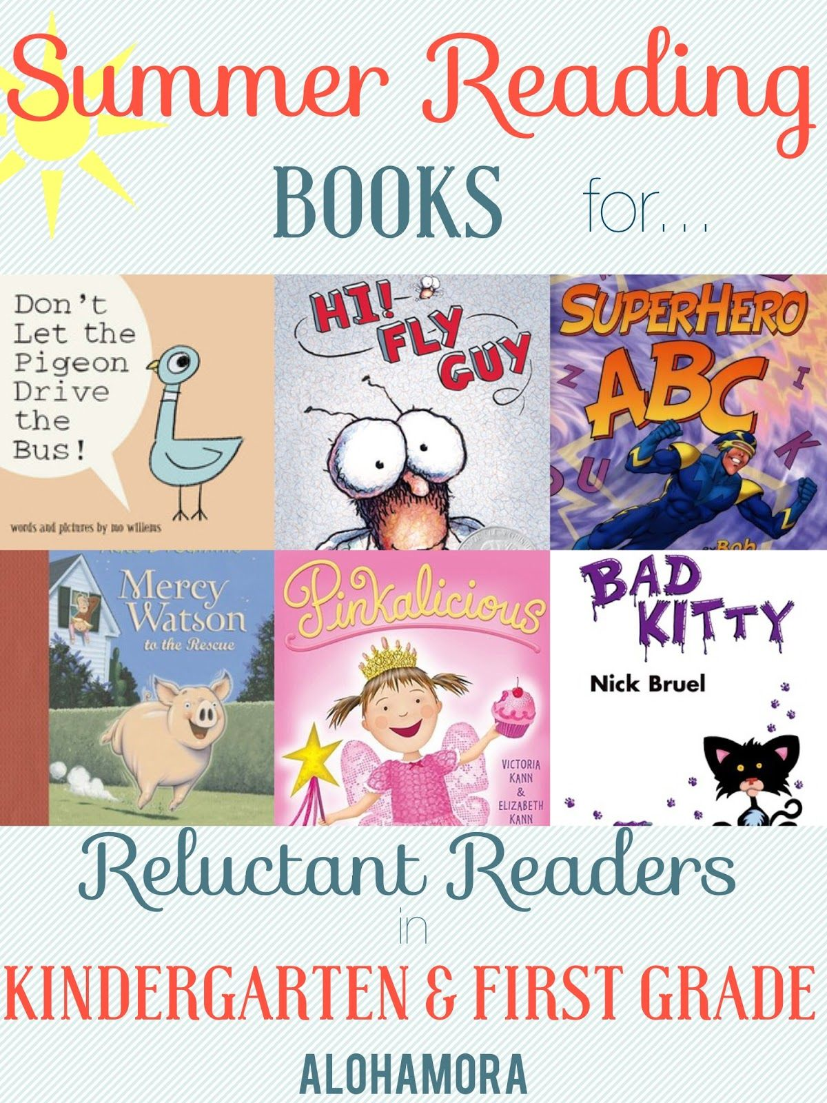 Summer Reading Books for Reluctant Readers aka for Kids that don't ...